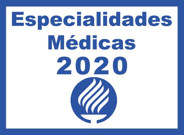 ESPECIALIDADES MÉDICAS ITESM 2020